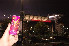 XS Energy Drink at the Linc