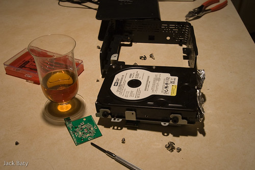 MyBook teardown