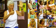 Penny Schultz at the Worthington Library (c) Hilltown Families
