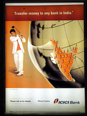 Icici Bank Poster, Festival of South Asia, Toronto