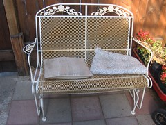 Glider Sofa (St. Blaize) Tags: yardfurniture