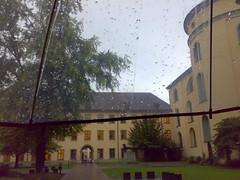 Abtei... (Astrid Kopp) Tags: umbrella transparent regen regenschirm rainweingartenabteibenediktinerabteistmartinusakademierottenburgtagungshausmartinsbergkloster