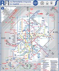 Plano del Metro de Madrid - Anden1 (RFi)