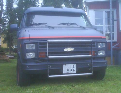 Tomas from Sweden's Van