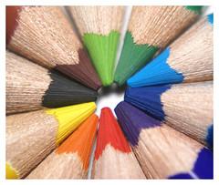 Pencils (Manic78) Tags: pencils colours sony crayons alpha a100 sonyalpha hipbotunsquare