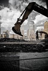 NYC (Brooke Pennington) Tags: nyc newyorkcity construction worldtradecenter 911 twintowers groundzero september11th thepit