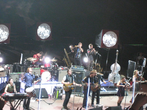 Arcade Fire @ Red Rocks 9-18-07