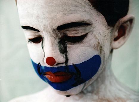 Lil' Sad Clown by Aihibed.