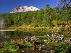 Hat Lake (RV Diana) Tags: mountain lake volcano nationalpark volcanic lassen mtlassen hatcreek lassenpeak splendiferous hatlake