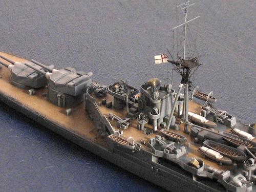 英國皇家海軍巡洋戰艦 胡德 HMS Hood (组图)