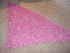 Swallowtail Shawl, part 2