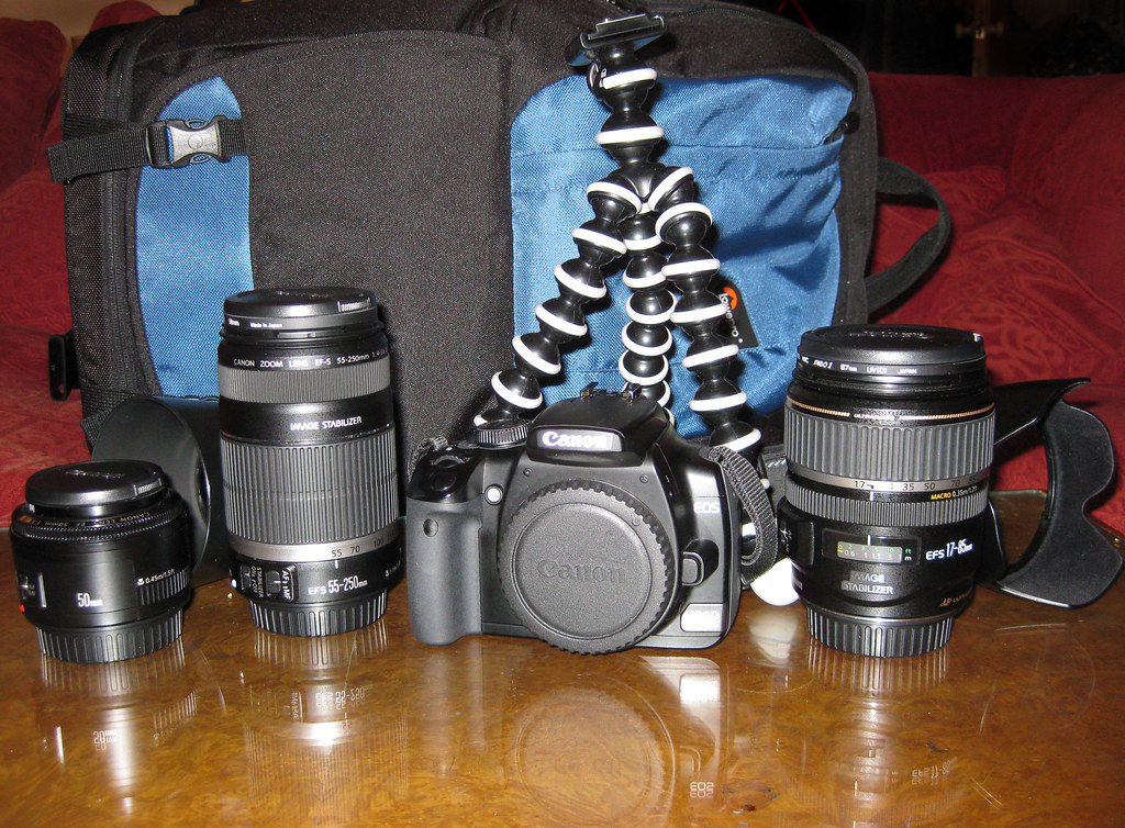 Camera gear for Japan