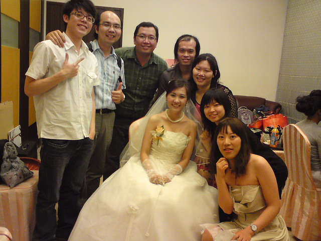 Lawrance'a college fellowship member's wedding (旻君婚禮)