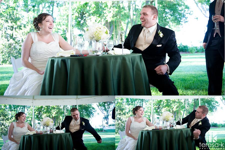 vineyard wedding reception, northern california wedding photographer, teresa k