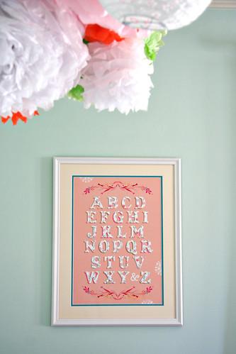 Sweet P's Nursery - Katie Daisy Print