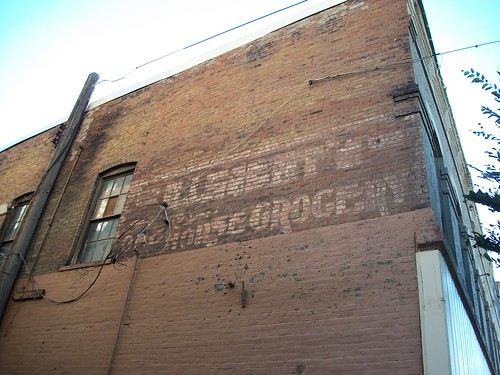 One Horse Grocery Ghostsign