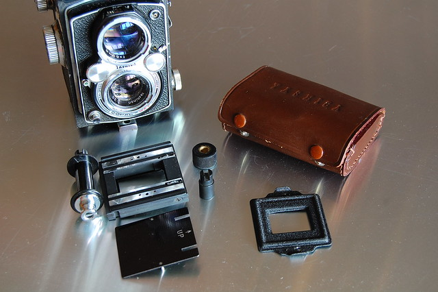 Yashica 635 and 35mm adapter kit