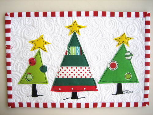 Holiday Mug Rug