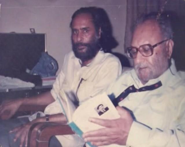 Prof Israr Ahmad with Dr Abdul Salam 1