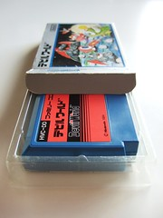 Famicom 'Devil World' box + cartridge