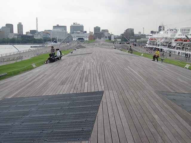Osanbashi Yokohama International Port Terminal