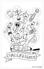 El Gallo Pinto | Poster collab (*eatyourcarrots) Tags: blackandwhite white black color blancoynegro blanco pencils magazine poster gallo costarica paint revista negro polyester carrots interview mag afiche pintar pinto entrevista lapices seniorita eyc eatyourcarrots himnofeda senioritapolyester arrozconmango zanaorias gallointo