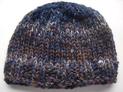 Brown and Blue Dulaan Hat