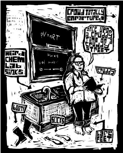 lynda barry at oberlin