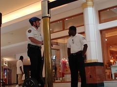 Rude Rent a Cops telling me no Video