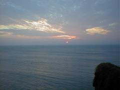 納沙布岬の日の出