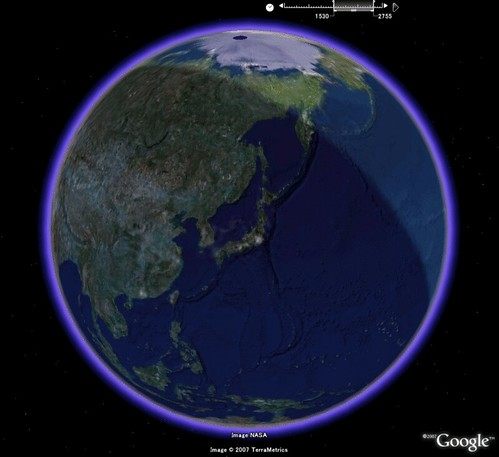 Real-Time Day and Night Earth