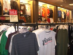 T-shirt sale at Kohls