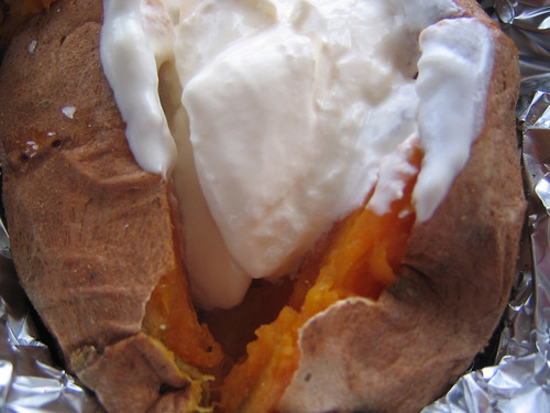 Baked Sweet Potato 2