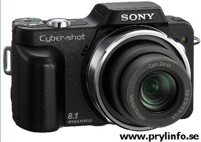 sony DSC-H3 kamera
