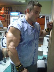 Ripped (CelebMuscle) Tags: pecs muscles arms muscle hunk massive buff huge veins mass bodybuilder biceps abs beefcake pumped buffed
