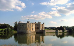 Leeds Castle - Kent, England -  Sunday August 26th 2007 (law_keven) Tags: england sky reflection building castle water clouds kent palace moat leedscastle henrytheeighth blueribbonwinner explore500 statleyhome diamondclassphotographer flickerdiamond superhearts