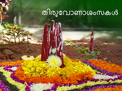 Onam Greetings (shaji sarasan) Tags: greetings onam pookalam pookkalam onamgreetings