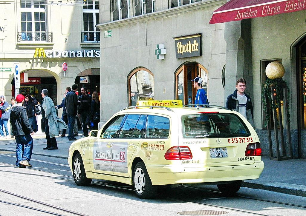 taksi bern mersedes