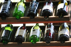 Bottles of wine (j.vdstok) Tags: wine winebottle winerack fles wijn wijnfles wijnrek