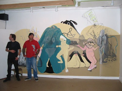 Mural Designed by the BORG WARD