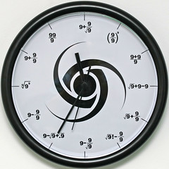 The Triple Nine Society Wall Clock