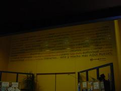 Mural en el centro de recursos Gota de Leche