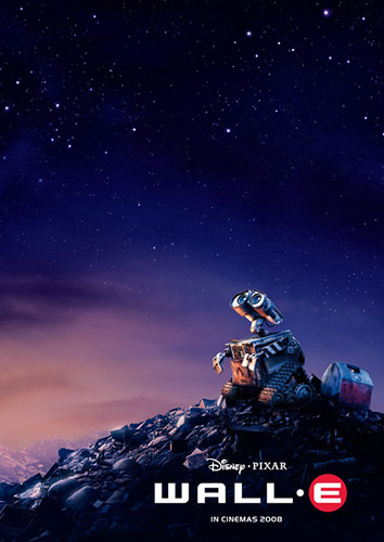 Wall-E Teaser Poster by AsceticMonk