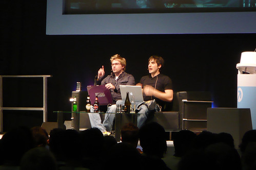 Diggnation London 2007, photo by SlipstreamJC
