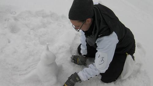 Snow-kanga!