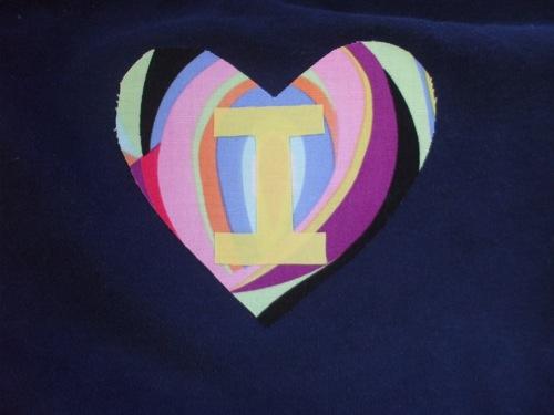 initial heart!