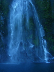 Sterling Waterfall, Milford Sound, New Zealand