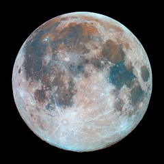 Hunter's Moon  10/23/10  3:00UT (zAmb0ni) Tags: sky moon night solar system telescope astrophotography astronomy celestron hunters xsi