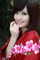 [フリー画像] 人物, 女性, アジア女性, 和服・着物:浴衣, 201104032100