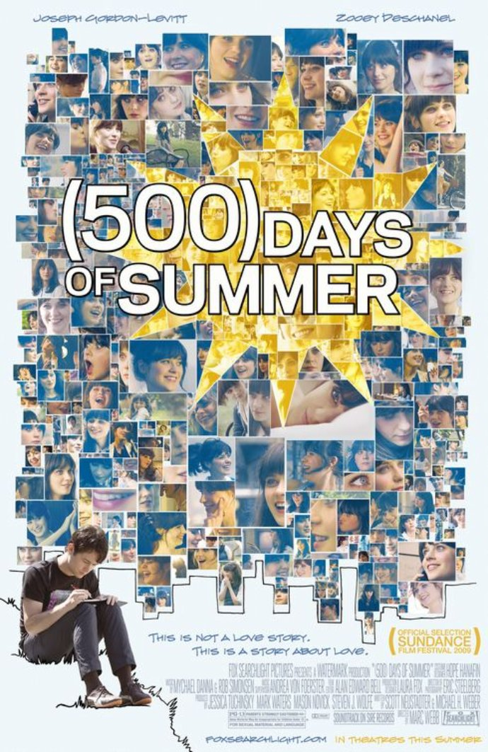 (500) Days of Summer Poster - Click to View Extra Large Image